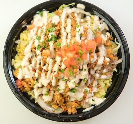 Chicken Shawarma Rice Bowl