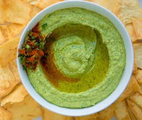 Fresh Cilantro Hummus