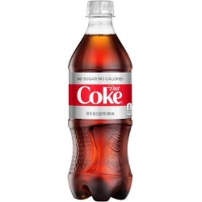 Bottle Drink Diet Coke