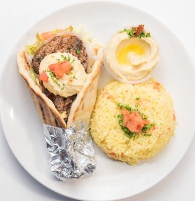 Beef Kafta Kabob Pita