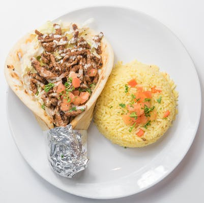 Steak Shawarma Pita