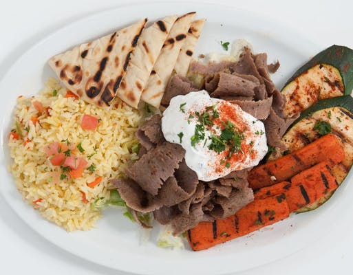 Traditional Gyro Platter