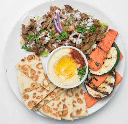 Steak Shawarma Platter