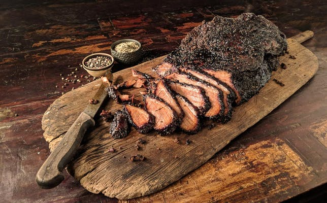 Slow Smoked Beef Brisket