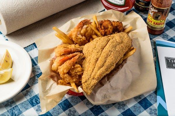 Shrimp & Catfish Combo