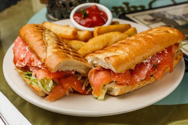 """From the Greek God's"" Maxim Sandwich"