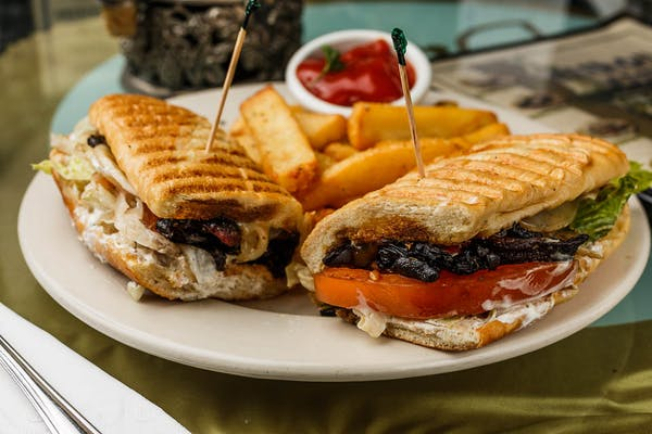 """From the Greek God's"" Ibiza Sandwich"