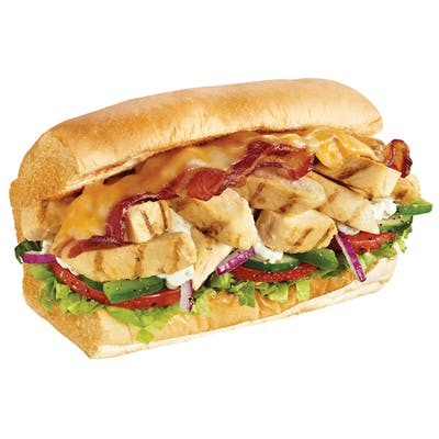 Chicken & Bacon Ranch Melt Sub