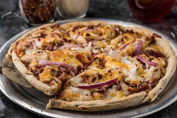 Crazy's BBQ Chicken Pizza