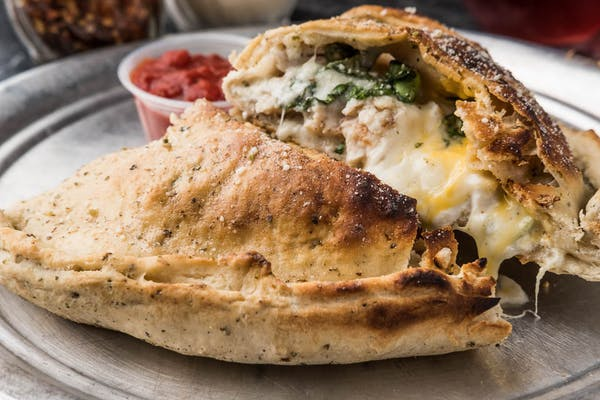 Chicken & Spinach Calzone