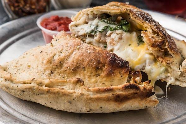Chicken & Spinach Calzone