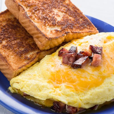 Meat & Cheese Omelet