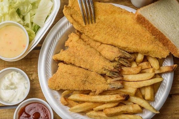 Fried Shrimp & Fish Platter