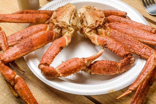 Boiled Snow Crabs