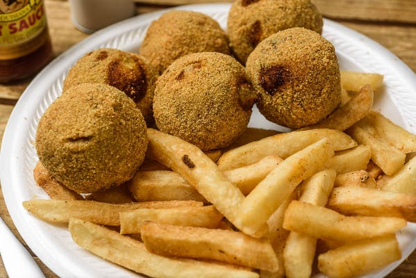 Boudin Balls & Fries