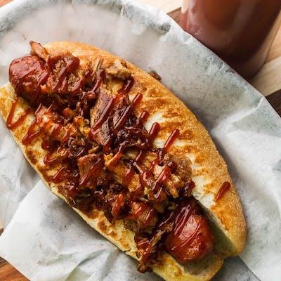 Smoked Pork Sausage Dog