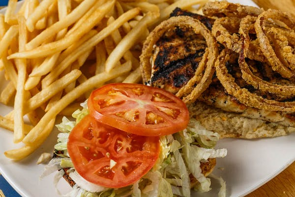 Mahi Gras Sandwich