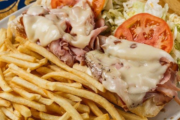 Ham & Swiss Poboy