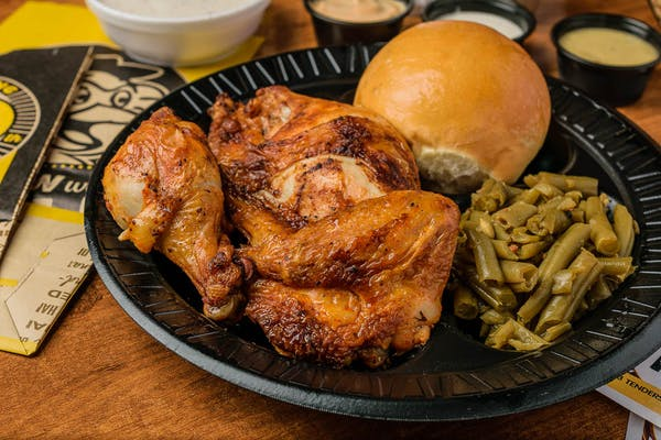 (3 pc.) Roasted Chicken Combo