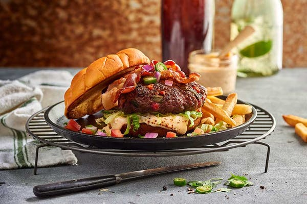 Cadillac Mexicana Burger & Fries