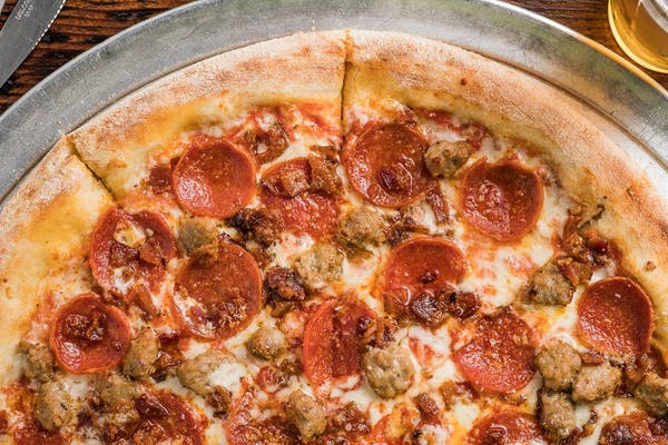 Traditional Meat Lover's Pizza