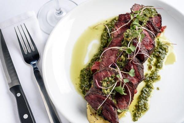 Grilled Hanger Steak