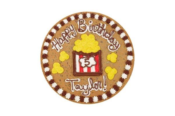 "(16"") Popcorn Happy Birthday Design Cake"