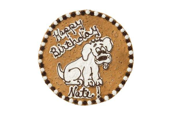 """(16"""") Dog Design Cake"""