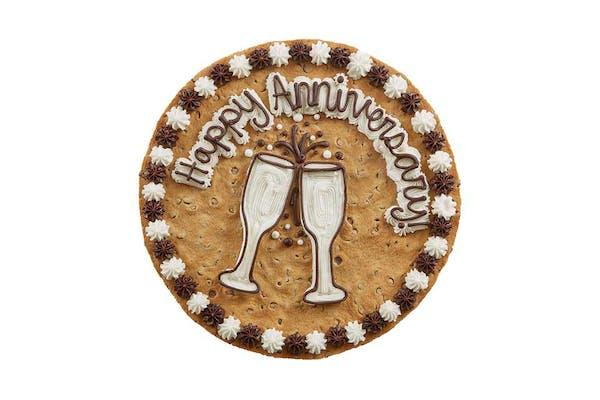 "(16"") Happy Anniversary Design Cake"