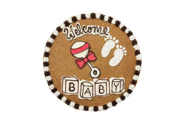 "(16"") Welcome Baby Design Cake"