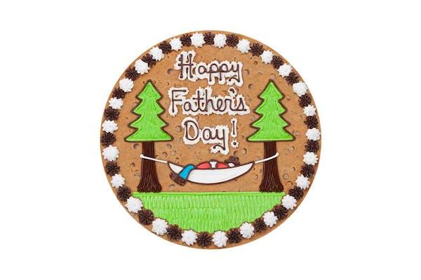 "(16"") Happy Father's Day Hammock Design Cake"