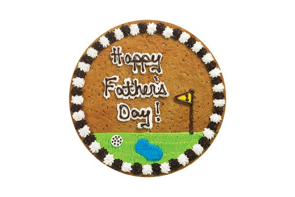"""(16"""") Happy Father's Day Golf Design Cake"""