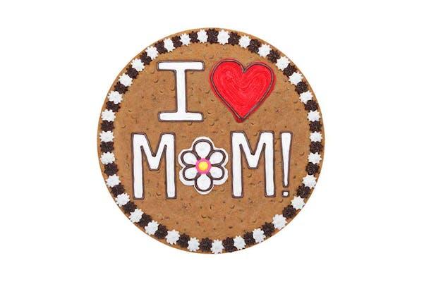 """(16"""") I Love Mom Design Cake"""