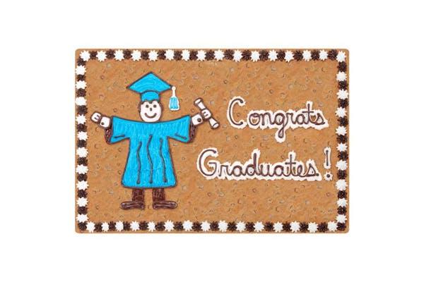 Rectangle Pan Cake Graduation