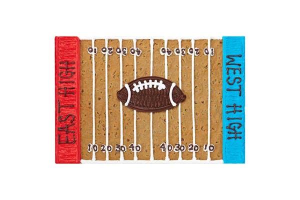 Rectangle Pan Cake Football Field