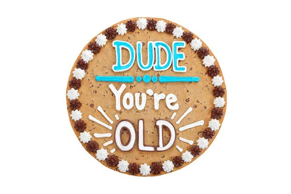 "(16"") Dude You're Old Cake"