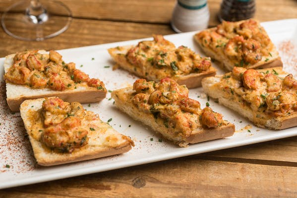 Lunch New Orleans Crawfish Bread