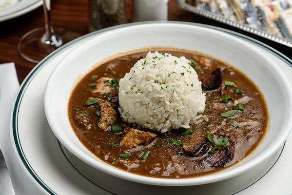 Lunch Chicken & Sausage Gumbo