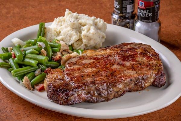 Hand-Cut Ribeye Steak