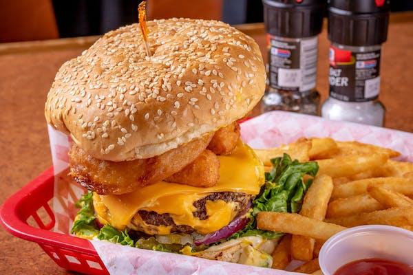 Ultimate Cheeseburger