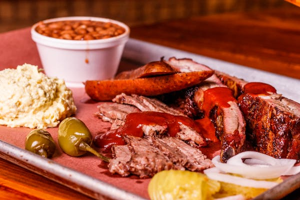 Three-Meat Combo Plate