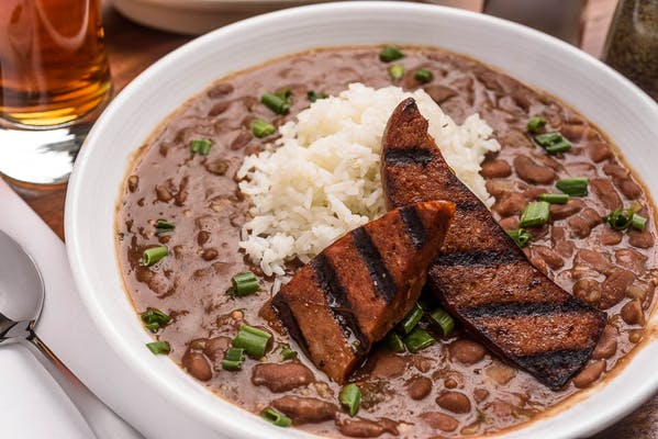 Lunch Red Beans & Rice