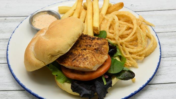 Blackened Mahi Sandwich