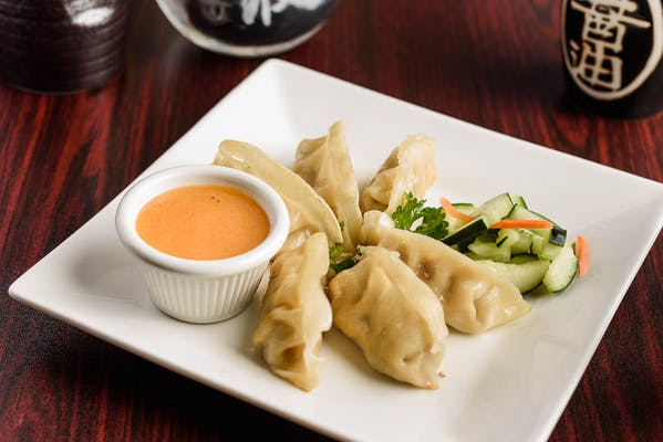 Panang Curry Pot Stickers