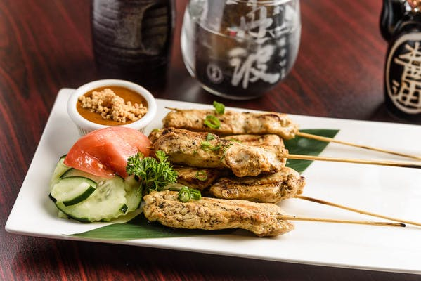 Satay Chicken or Tofu