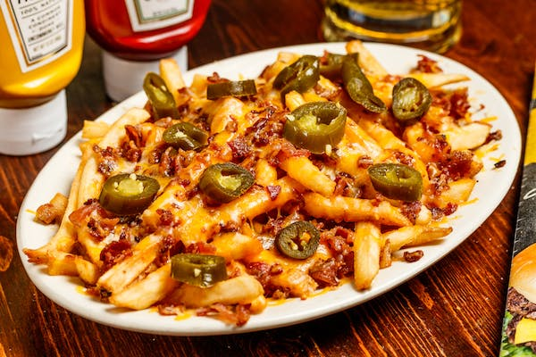 All-American Classic Cheese Fries