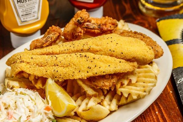 Cajun Seafood Platter