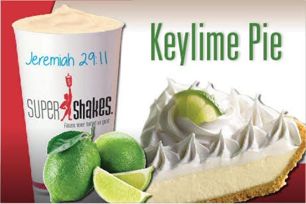 Super Fuel Key Lime Pie Shake