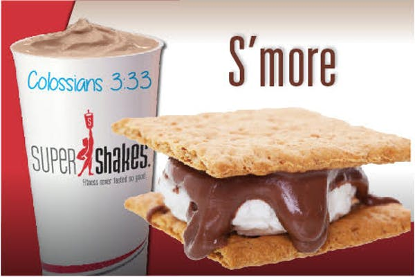Super Fuel S'Mores Shake