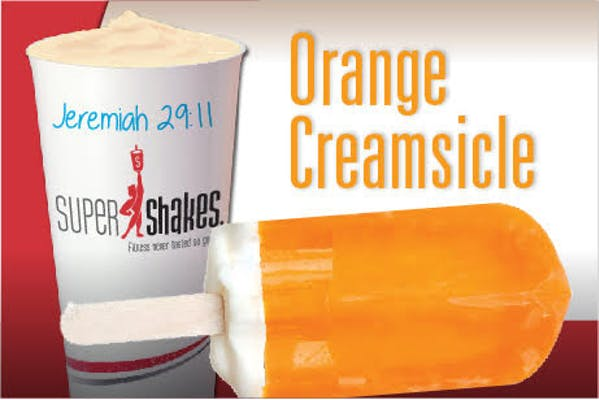 Super Charge Orange Creamsicle Shake
